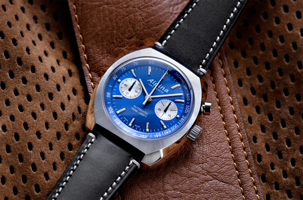 Alpina's Startimer Pilot Heritage Collection Welcomes First Chronograph 4
