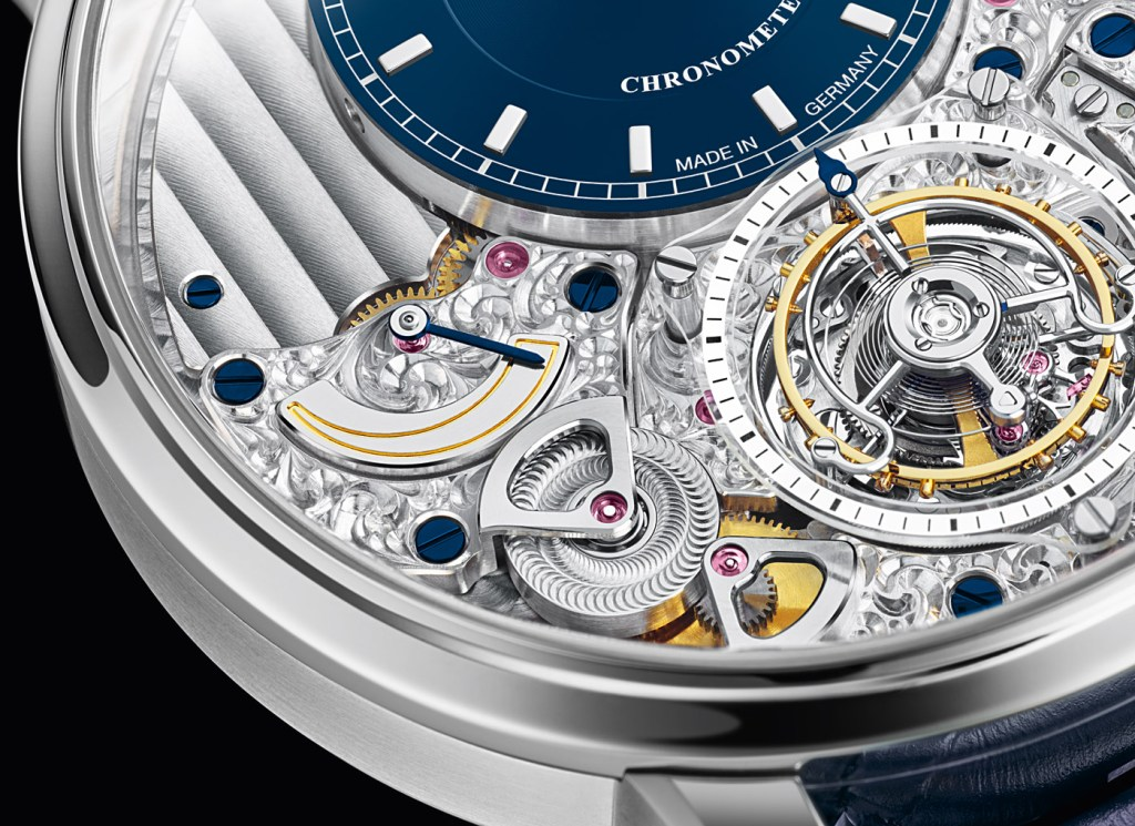 The Glashütte Original Limited Edition Senator Chronometer Tourbillon 3
