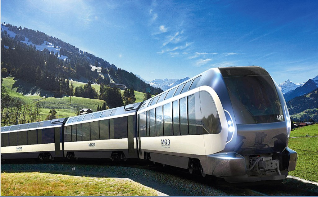 Switzerland's GoldenPass Express To Use The Pininfarina-Designed Wonder Trains in 2020