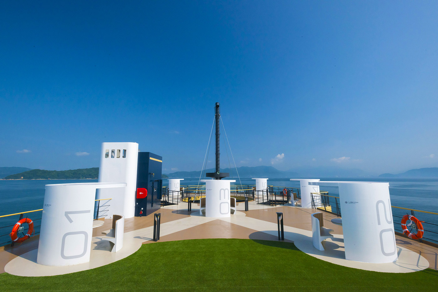 Sea Paseo the New Luxury Sight-Seeing Ferry Experience in Japan 7