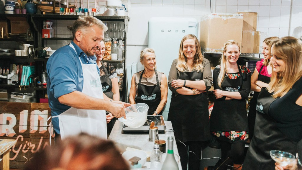 Bake With A Legend – London's Most Exclusive Baking Class 5