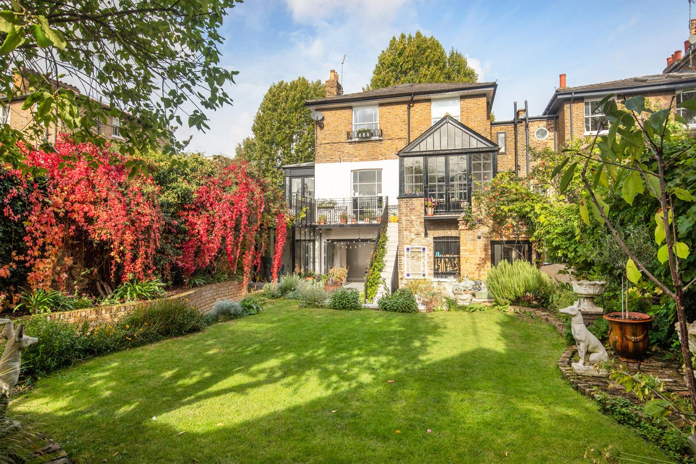 Former Home of Oscar-Winning Set Designer Comes to Market in West London