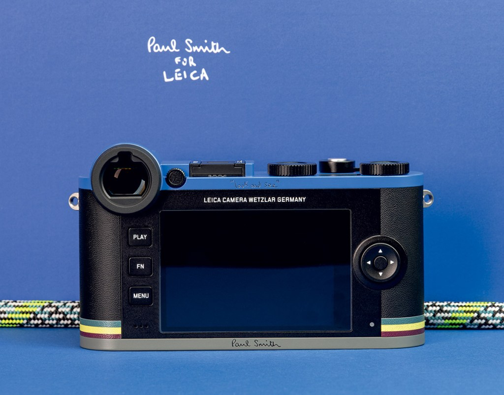 Rear of the Leica CL 'Edition Paul Smith'