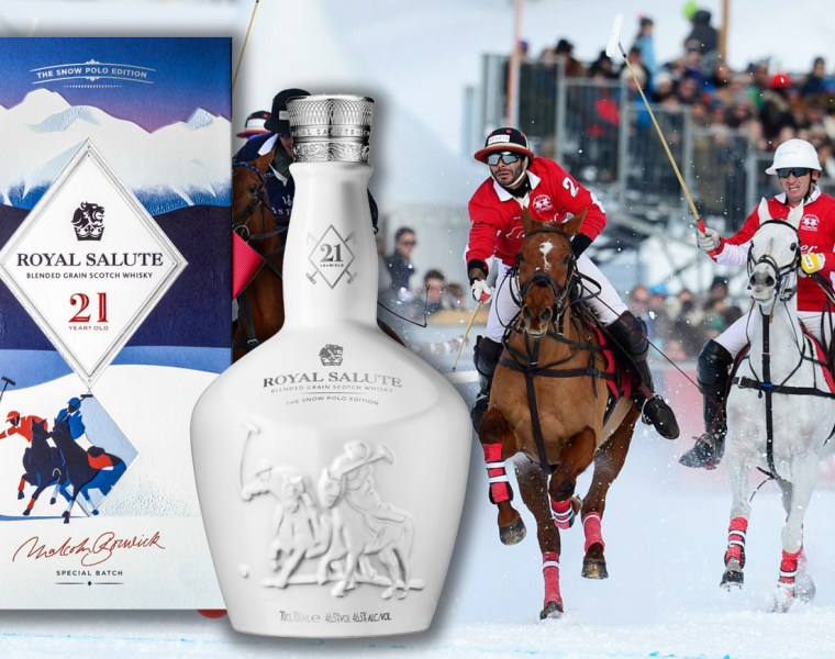 Royal Salute Whisky Unveils 21 Year Old Snow Polo Edition 1
