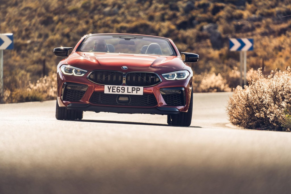 The BMW M8 Competition Coupé and BMW M8 Competition Convertible 6