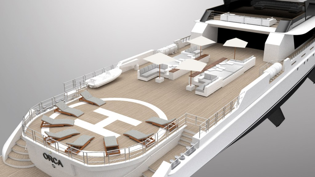 "Rosetti's 65m Explorer Project ""Orca"" - Innovation Inspired by Nature 6"