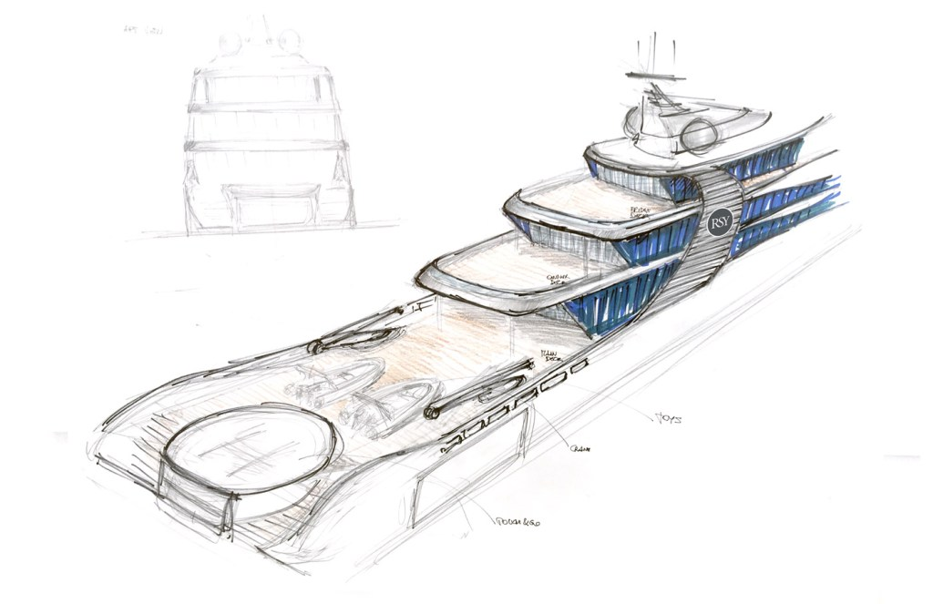 "Rosetti's 65m Explorer Project ""Orca"" - Innovation Inspired by Nature 5"
