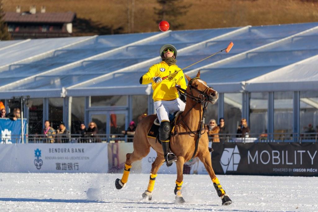 Record Snow at the 18th Bendura Bank Snow Polo World Cup Kitzbühel 2020 2