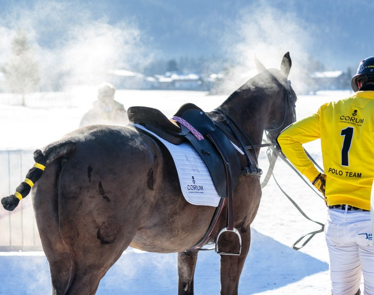 Record Snow at the 18th Bendura Bank Snow Polo World Cup Kitzbühel 2020 2