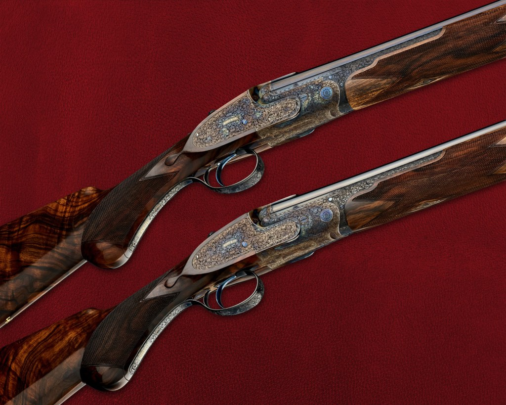 Boss & Co, the handmade Gunmaking company is renowned for it's exquisite detailing.