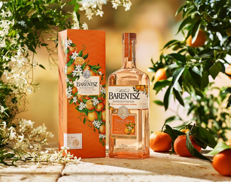 Barentsz Mandarin & Jasmine Gin
