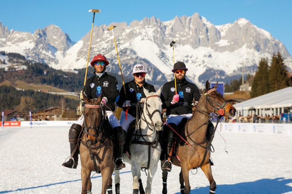 Bendura Bank Captain Melissa Ganzi Snow Polo World Cup Kitzbühel 2020