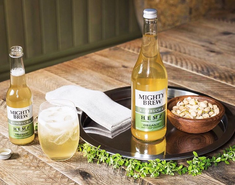 Mighty Brew Kombucha non-alcoholic drink