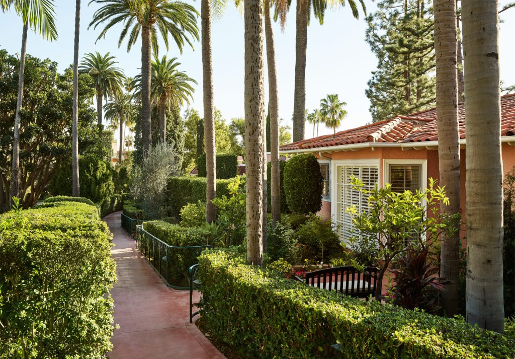 Beverly Hills Hotel Reveals Stunning Re-Design For Its Celebrity Bungalows