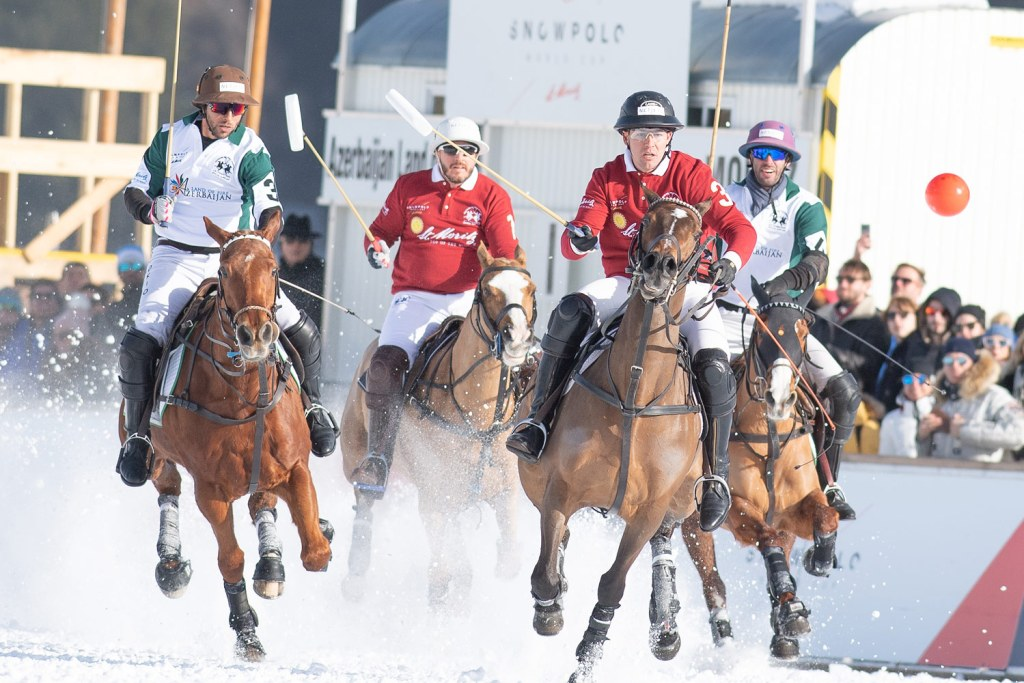 St. Moritz Takes Top Honours at Snow Polo World Cup St. Moritz 2020 4