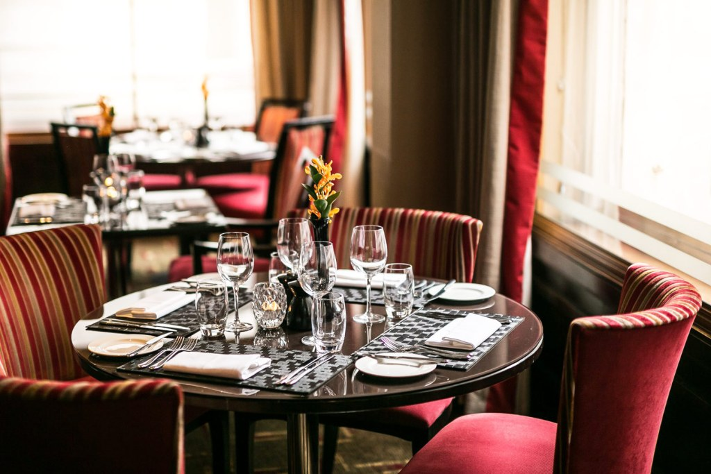 The Cavendish Hotel restaurant in London