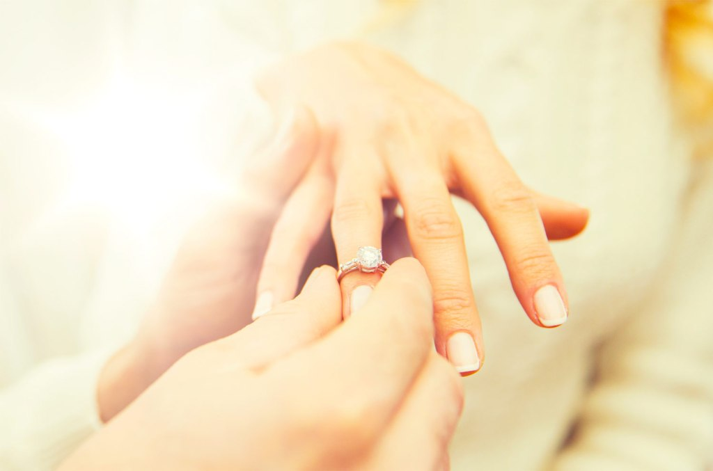 What the perfect diamond engagement ring looks like