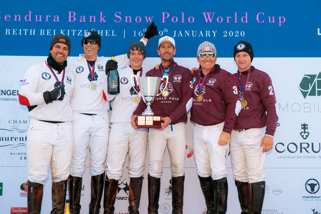 World Polo League Team Wins 2020 Snow Polo World Cup Kitzbühel