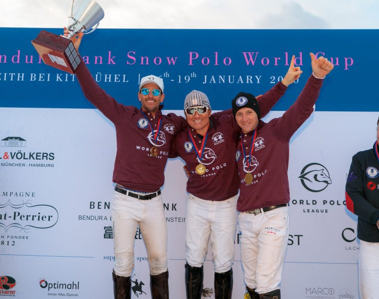 World Polo League Team Wins 2020 Snow Polo World Cup Kitzbühel 1