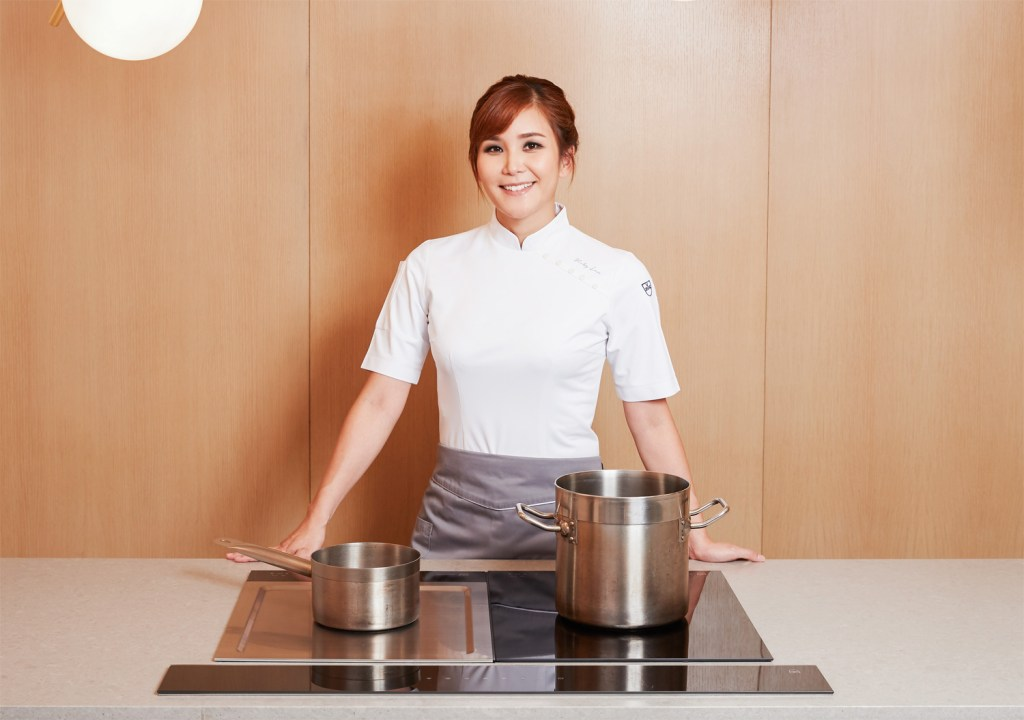 Chef Vicky Lau owner of TATE Dining Room in Hong Kong