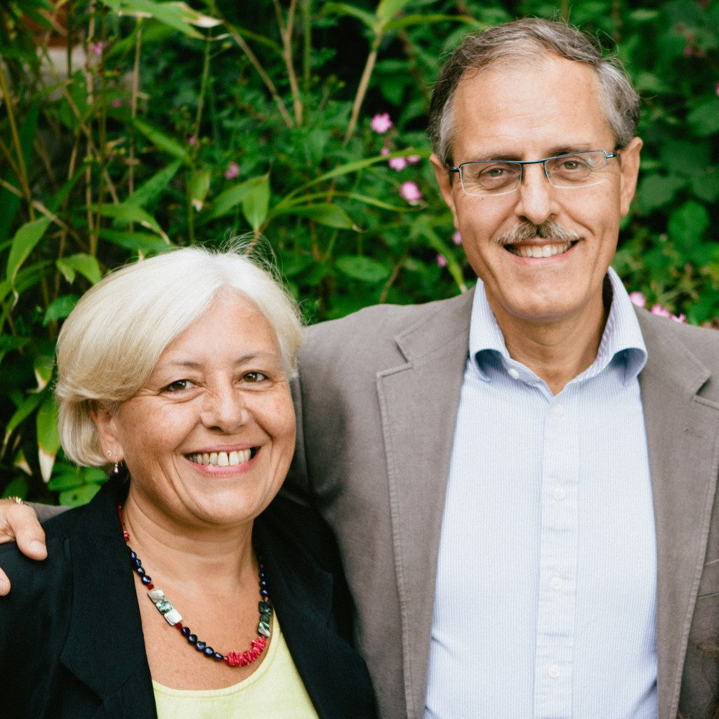 Dr Mariano Spiezia with his wife