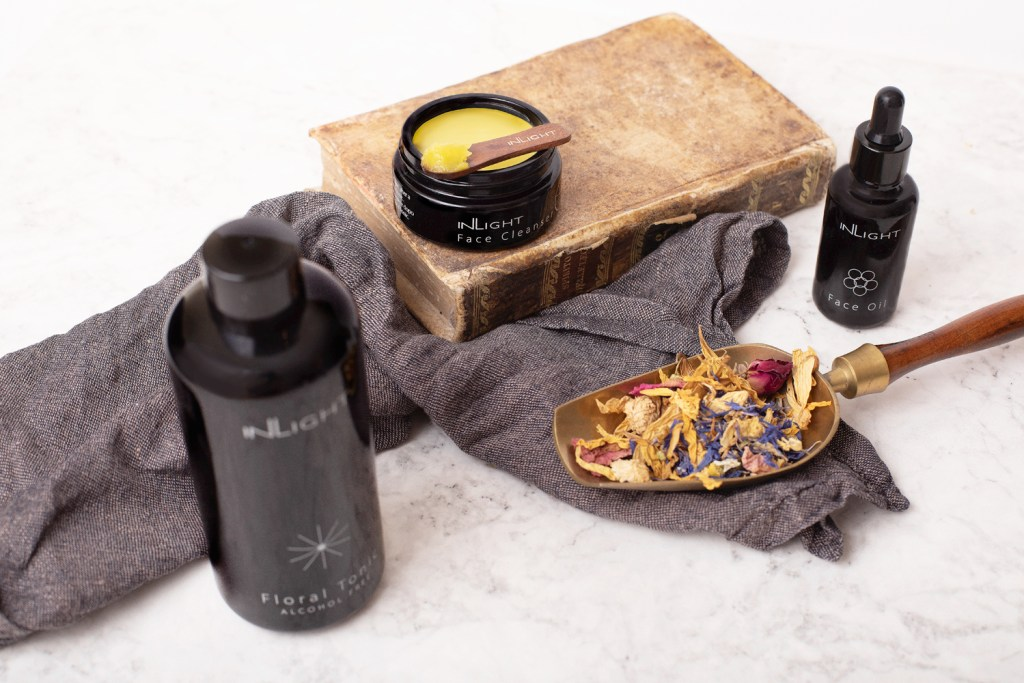 Inlight Beauty & Wellness products for the face