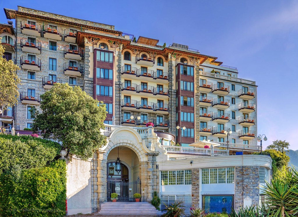 Excelsior Palace Hotel in Rapallo, Liguria.