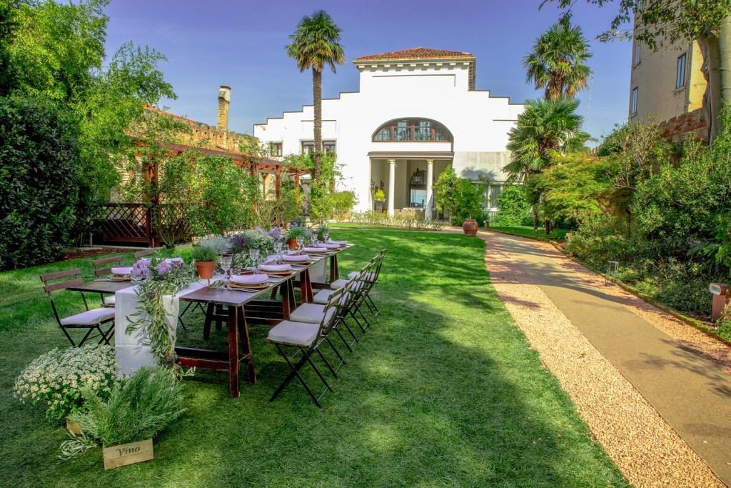 The Grand Hotel dei Dogi garden