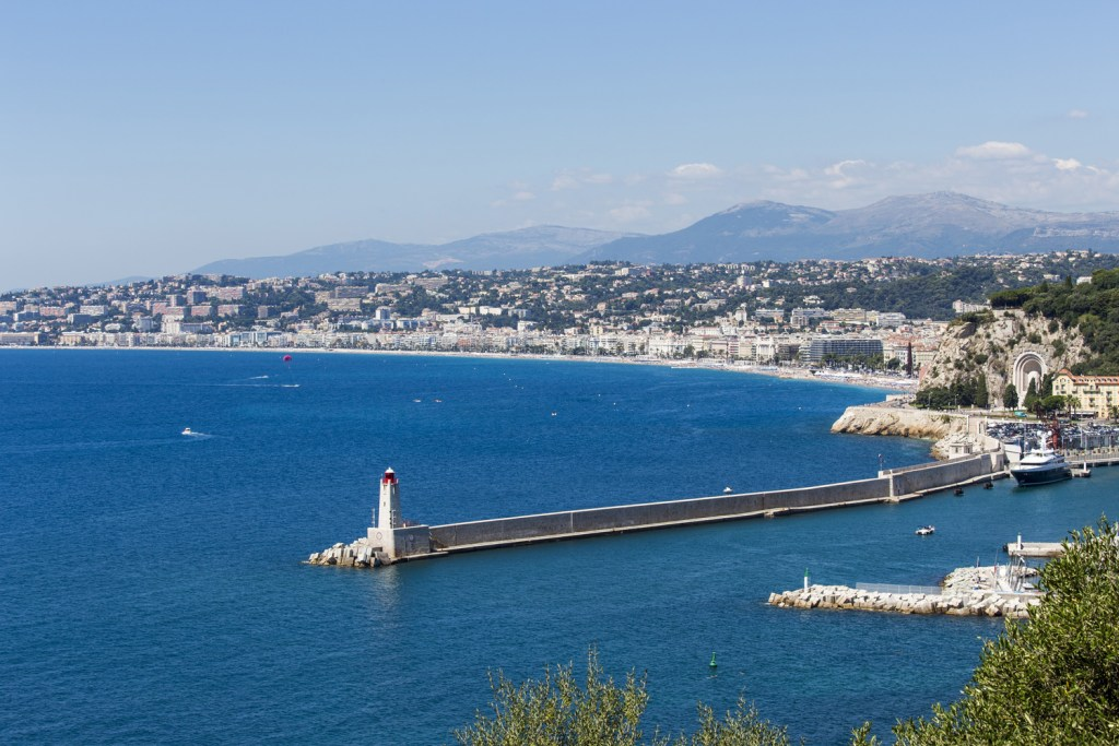 The Nice seafront