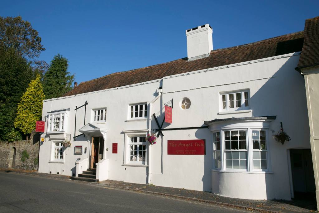 The exterior of the Angel Inn in Petworth