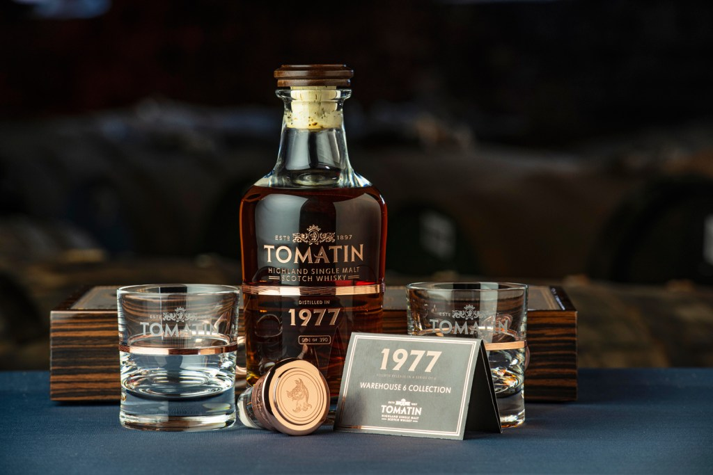 Tomatin 1977 Expression whisky from the Warehouse 6 collection