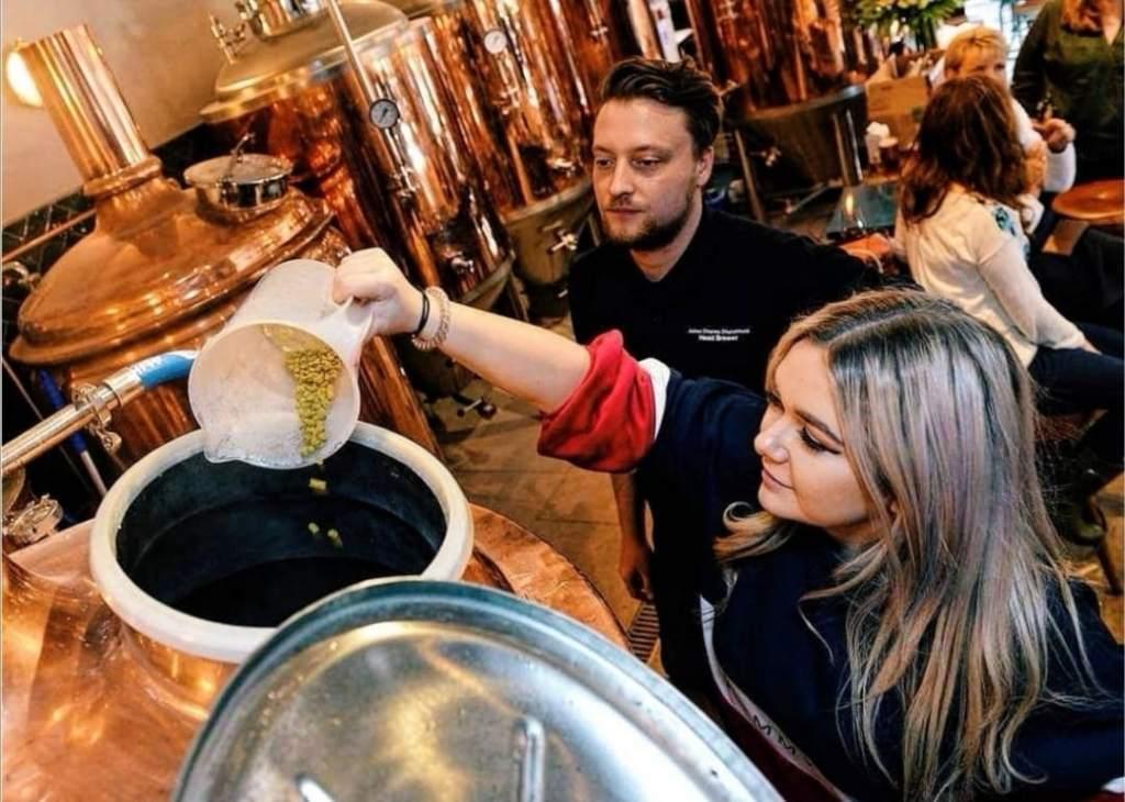 Brewhouse & Kitchen International Women's Brew Day
