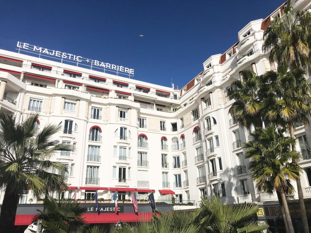 The Hôtel Barrière Le Majestic Cannes