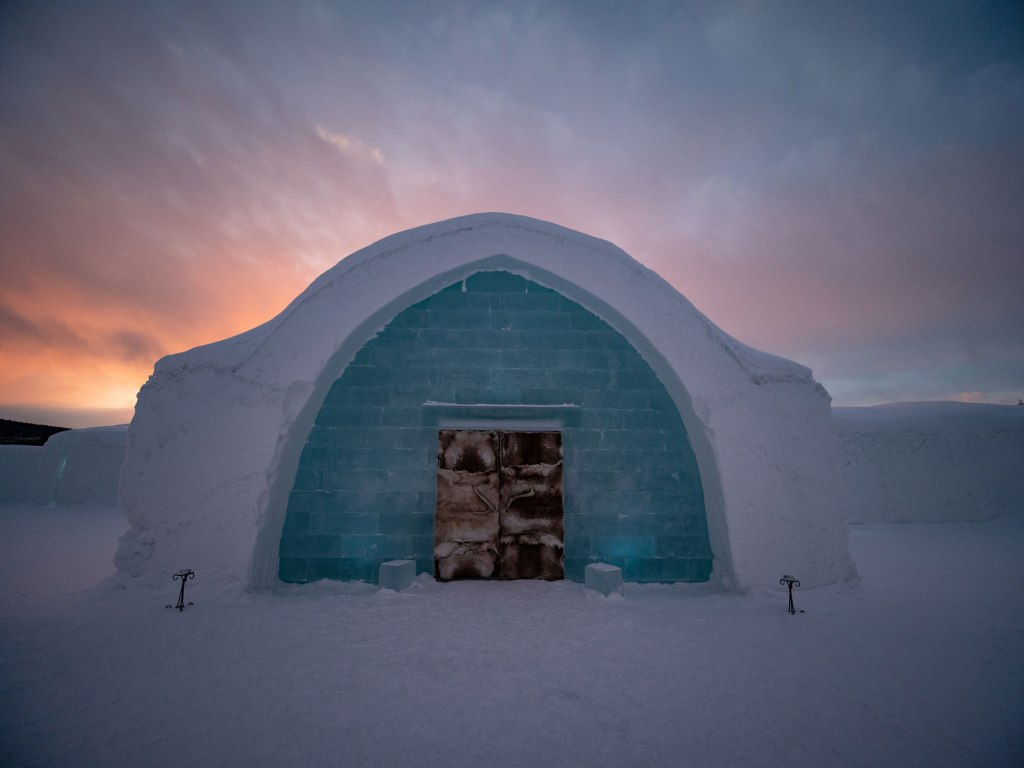 The Ice Hotel in Lapland