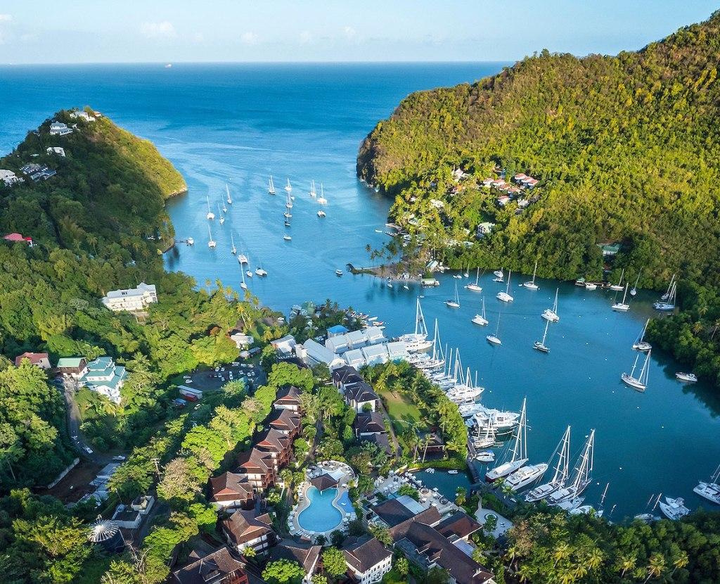 Marigot Bay St Lucia Coronavirus waiver