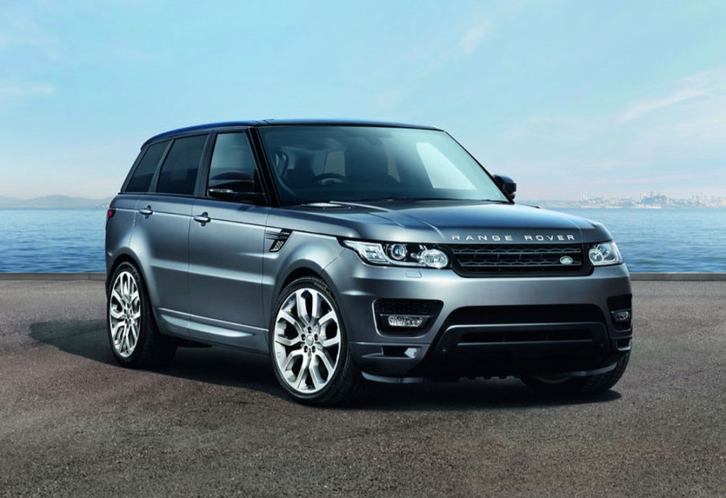 Range Rover Sport booked via The Out App