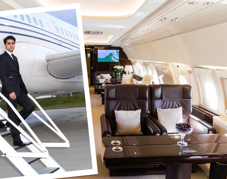 Interview with Ameerh Naran, CEO Of Vimana Private Jets
