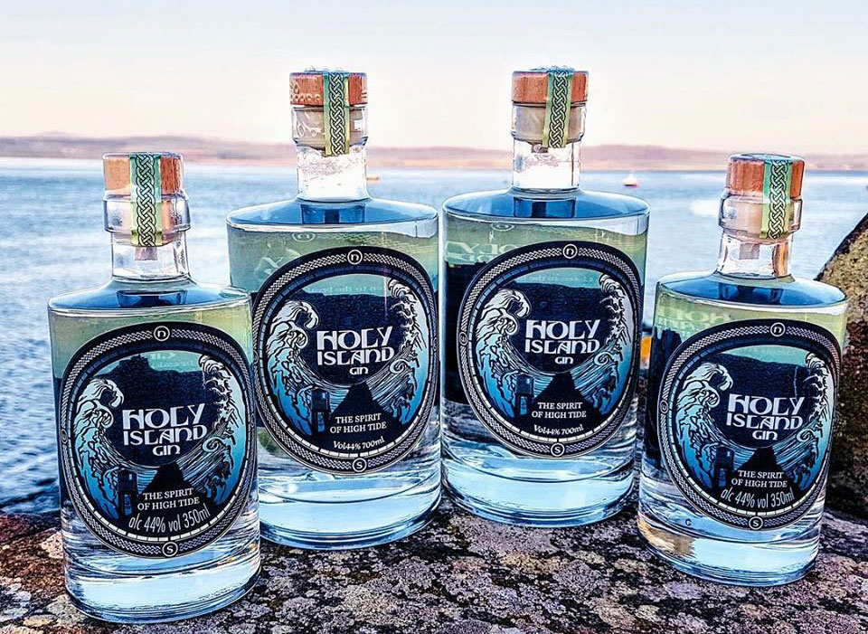 Holy Island of Lindisfarne Gin Bundle Direct to Your Door