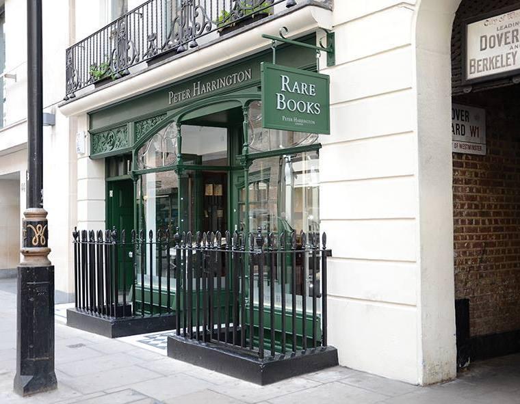 Peter Harrington book shop in London