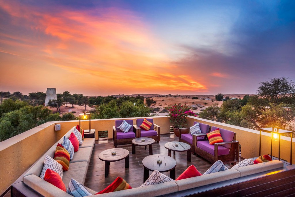 RitzCarlton Ras Al Khaimah Al Wadi - Moon Bar