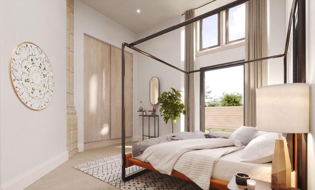 Bower & Barnabas bedroom