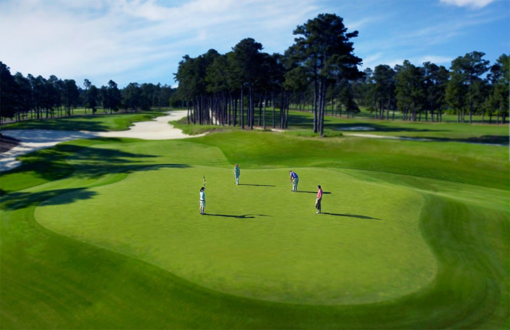 Course of Champions at Pinehurst in North Carolina