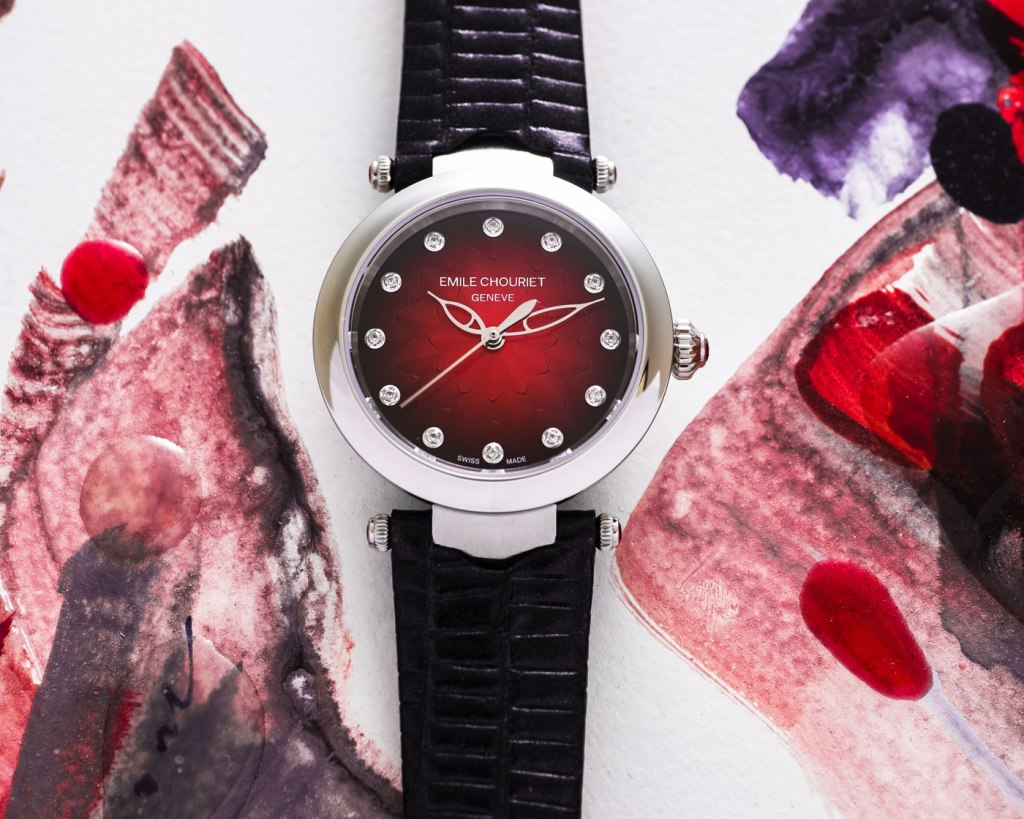 The Passion Inside The Fair Lady Lotus Red from Emile Chouriet