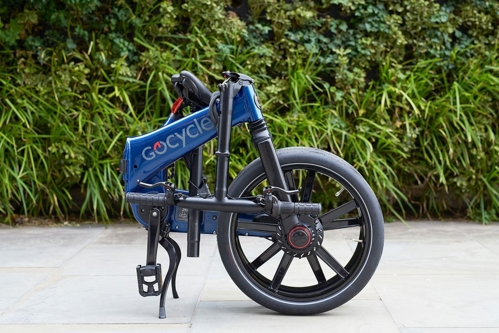How to fold a Gocycle e-Bike