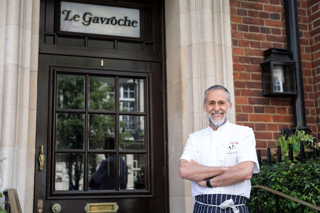 Michel Roux Jr at Le Gavroche