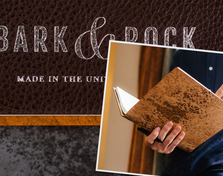 A Bark & Rock Handmade Journal Makes Writing an Absolute Pleasure