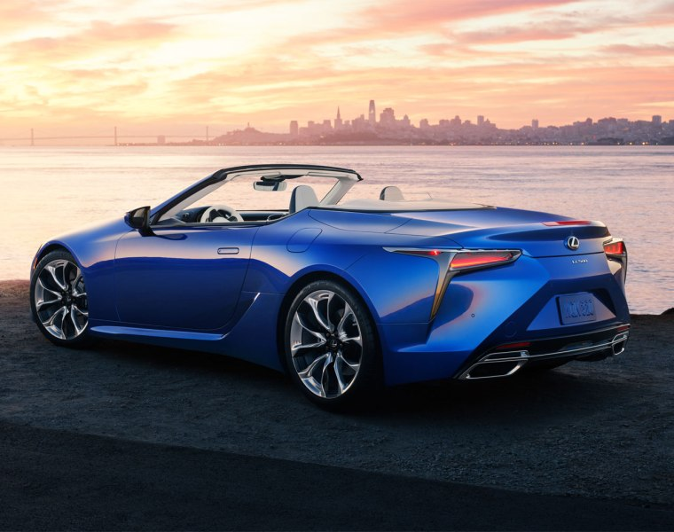 Lexus Engineers Makes Open Air Motoring Quieter in LC Convertible
