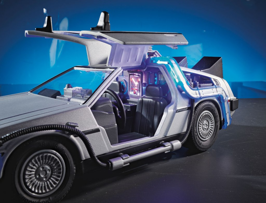 PLAYMOBIL Back to the Future Gullwing Doors