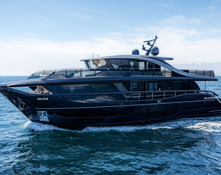 Princess X95 Completes Her Latest Plymouth Sea-Trial