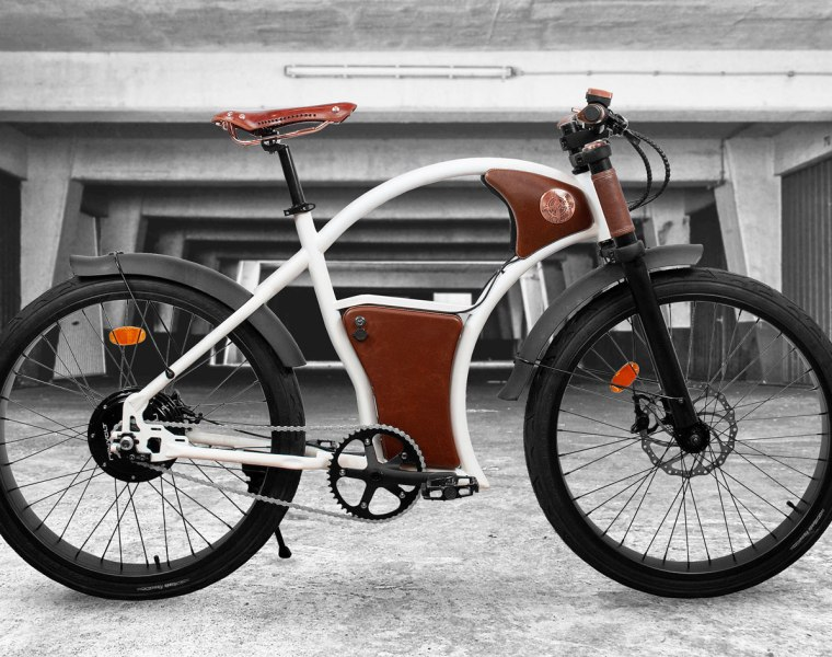 Rayvolt Torino e-Bike in white